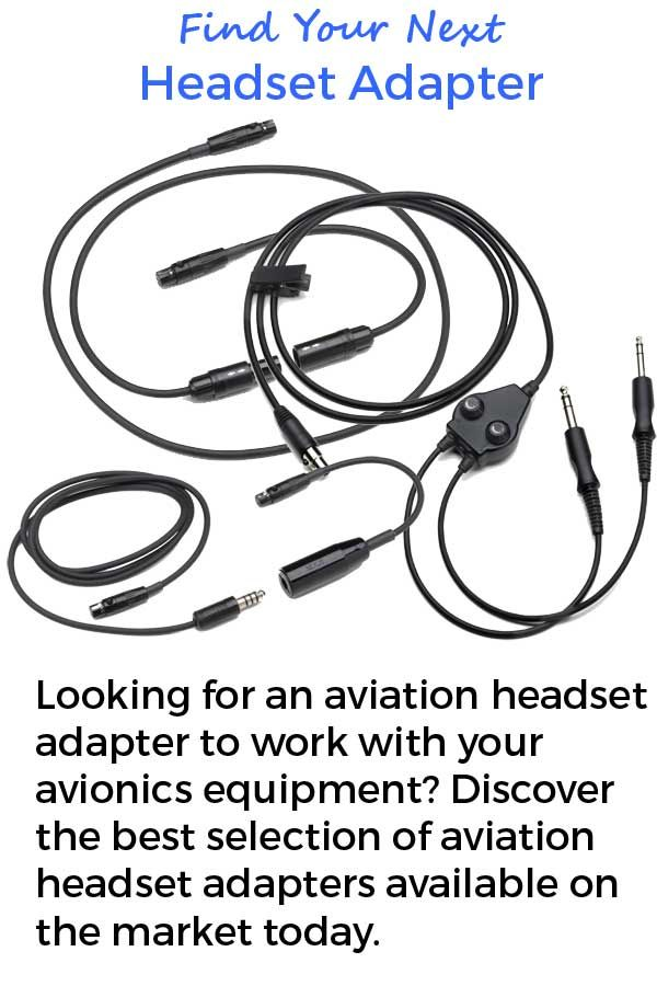 17 Best images about Aviation Headset Adapters on
