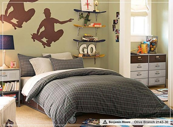 10 Inspirational Pictures For Teen Boys Bedroom Design