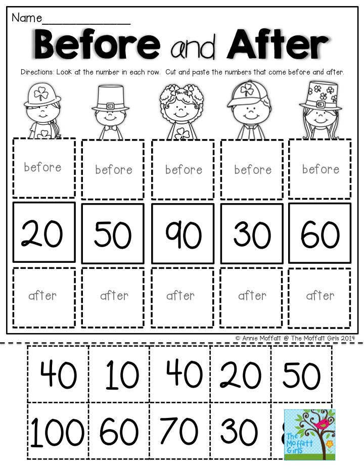 Before and After- Skip counting by tens. TONS of
