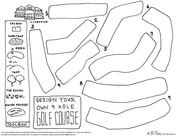 25+ Best Ideas about 9 Hole Golf Course on Pinterest