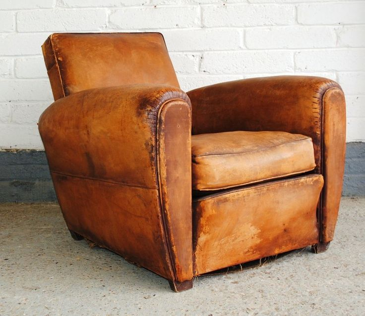 25 Best Ideas about Leather Club Chairs on Pinterest