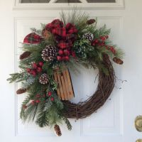 25+ best ideas about Winter wreaths on Pinterest ...