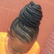 ideas black braided