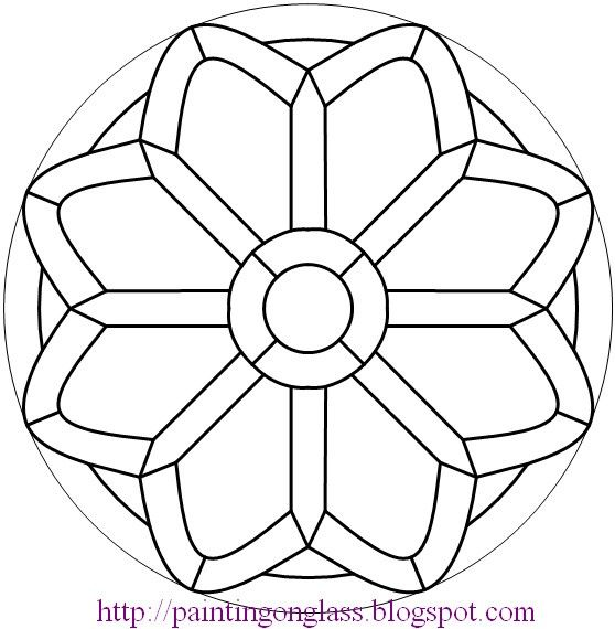 87 best images about MANDALAS to color 8 points on