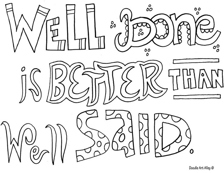 67 best images about Quote coloring pages on Pinterest