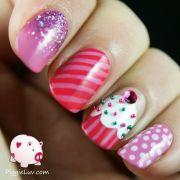1000 ideas cupcake nail