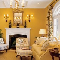 Yellow Gold Paint Color Living Room ...