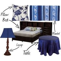 """""""A Ravenclaw's Bedroom"""" by nearlysamantha on Polyvore ..."""