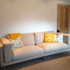 Sofa 4 Seater Mammoth Reviews Cushions: Orla Kiely, Sunflower & Cole Son Floral And ...