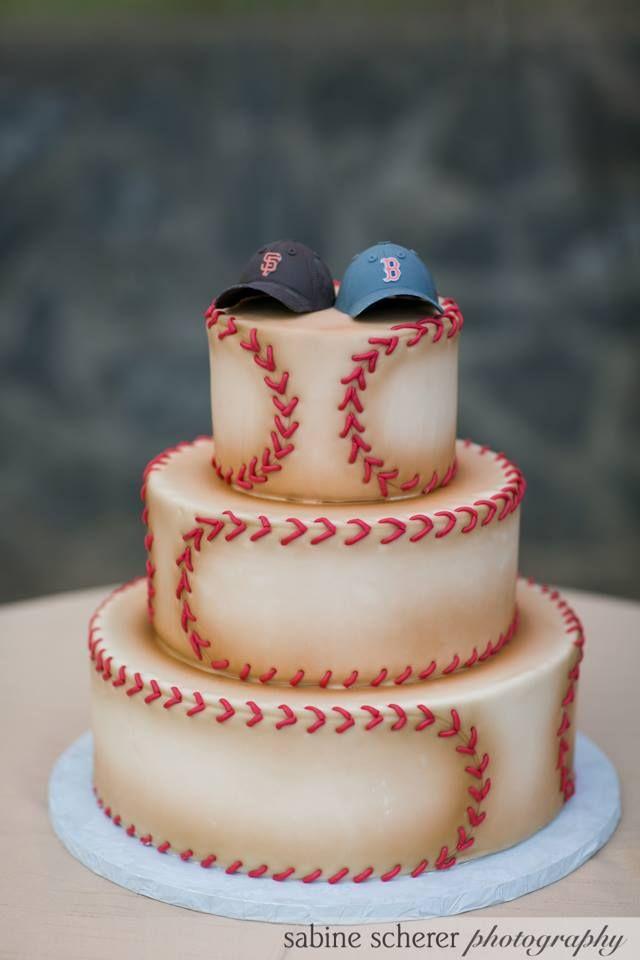 25 best ideas about Baseball wedding cakes on Pinterest  Baseball grooms cake Sports themed