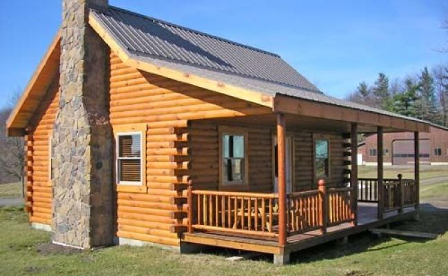 Small Cabin Homes With Lofts The Union Hill Log Cabin