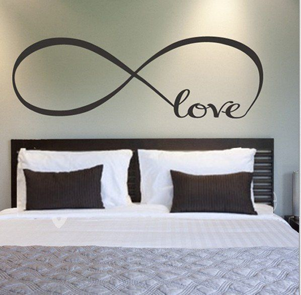 Bedroom Decor Love Quote Vinyl Wall Decal