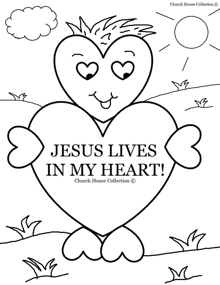 25+ best ideas about Sunday School Coloring Pages on