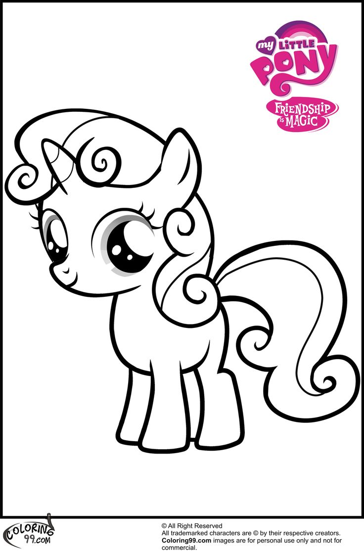 mlp print pages   My Little Pony Sweetie Belle Coloring Pages   Coloring   Pinterest   My little pony, Coloring and MLP