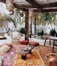 25+ Best Ideas about Bohemian Patio on Pinterest | Cozy ...