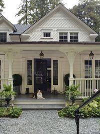 Beautiful white farmhouse style home
