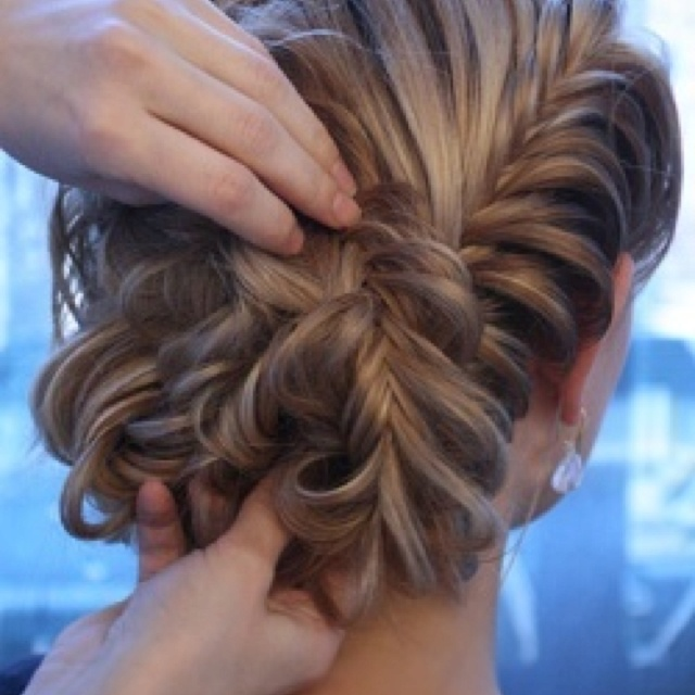 17 Best Images About Bridesmaids Updos On Pinterest Lorraine