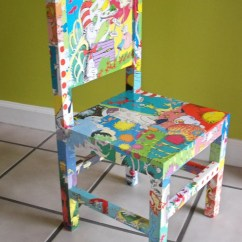 Dr Seuss Chair Covers And Bows Pontyclun Dr. Decoupaged Wood Child's Chair, Cat In The Hat, Lorax, Green Eggs Ham More ...