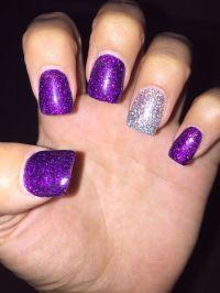25+ best ideas about Purple Acrylic Nails on Pinterest ...