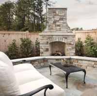 Best 25+ Backyard fireplace ideas on Pinterest
