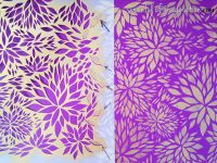Petal Play Floral Damask Wall Stencil | Bedroom makeovers ...