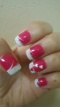 Best 25+ Valentine nail designs ideas only on Pinterest