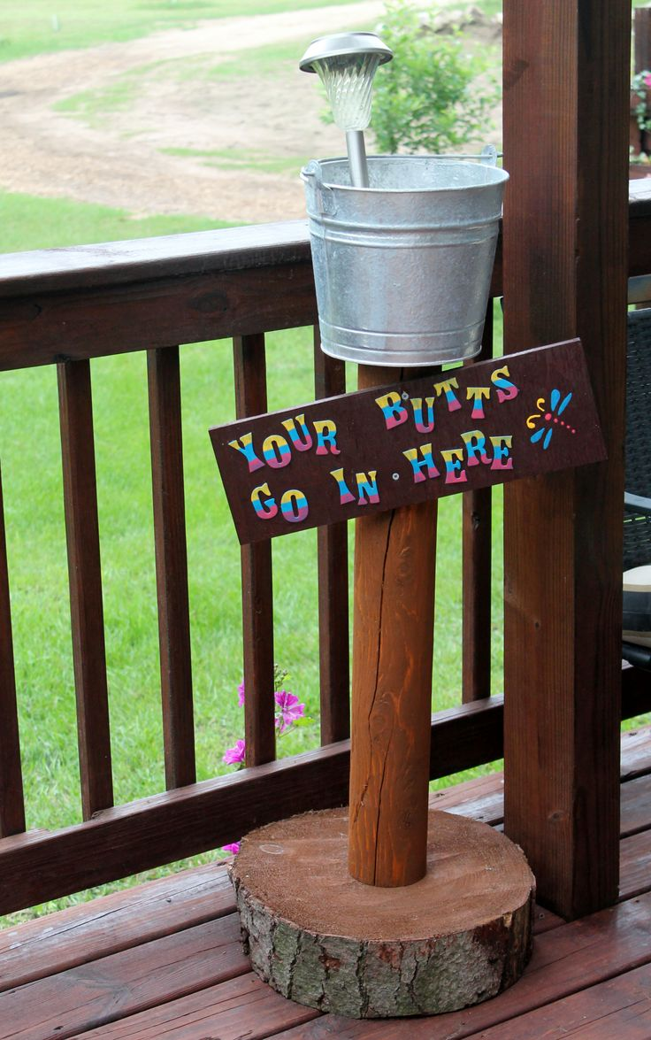25 Best Ideas About Outdoor Ashtray On Pinterest Pvc Tube Clay