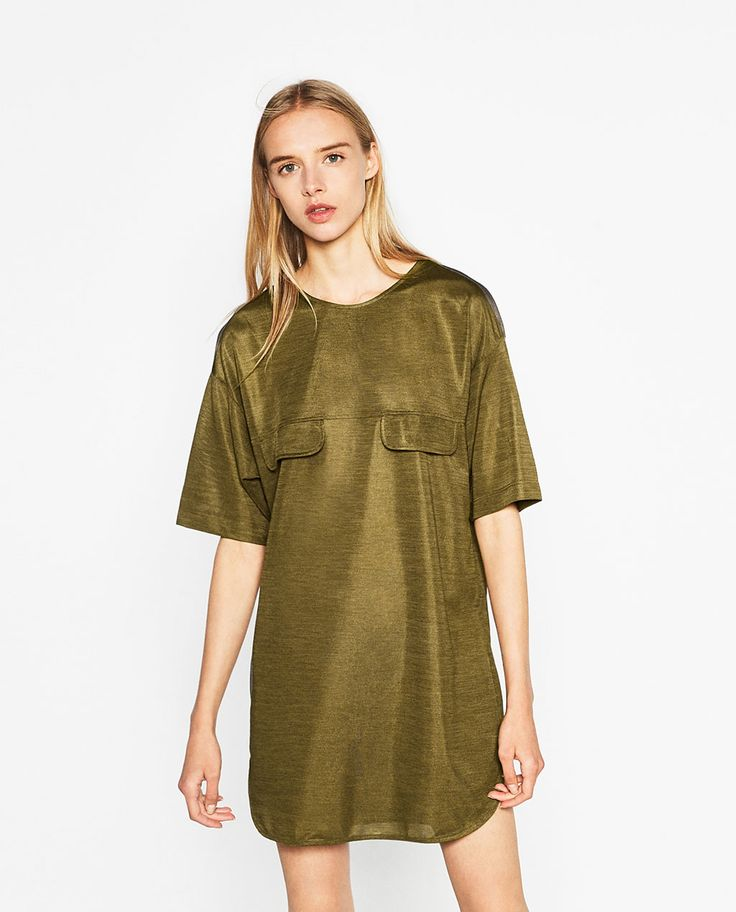 robe bicolore robes femme zara france