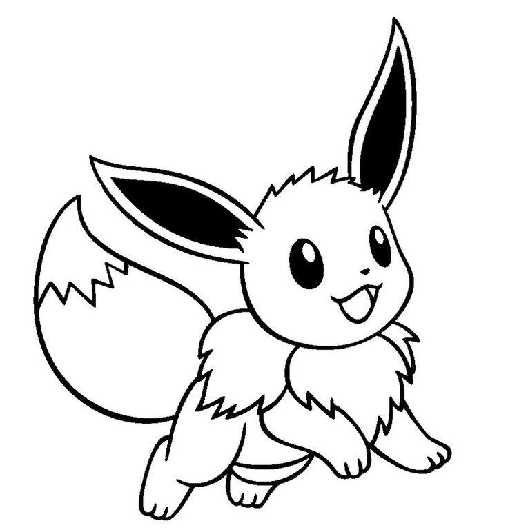 cute pokemon eevee drawings  eiura  pinterest  cute