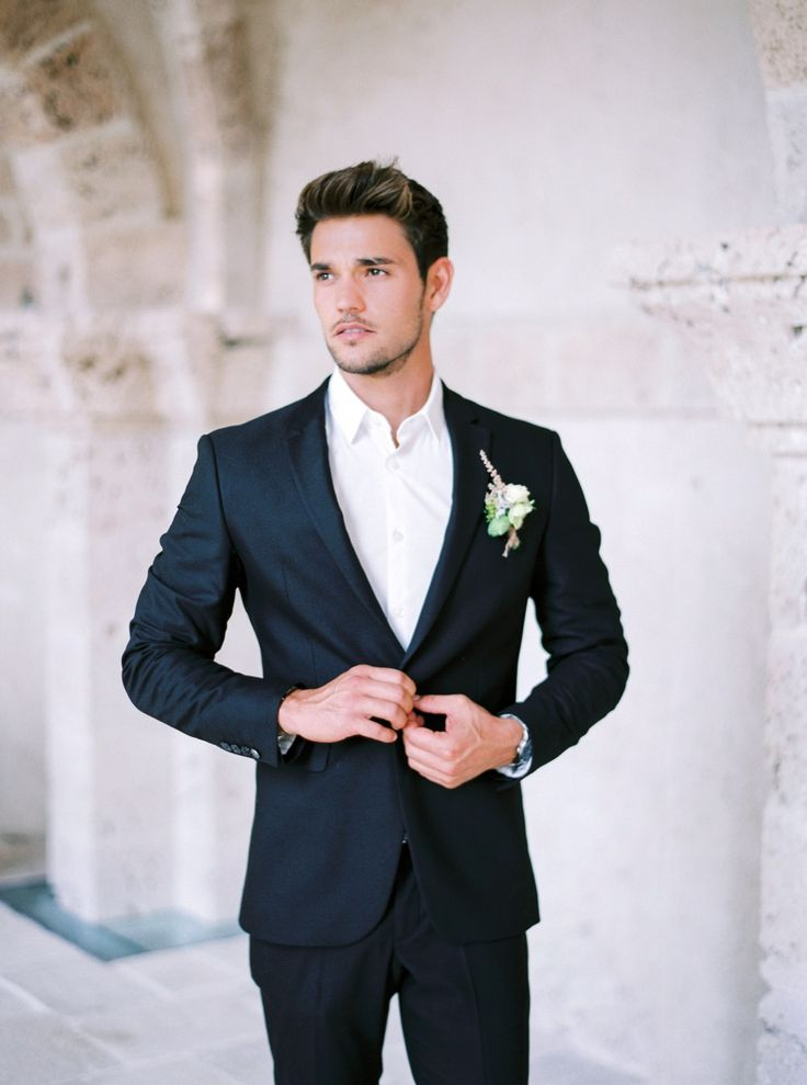Best 25 Groom attire black ideas that you will like on