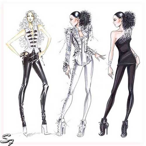 1000+ ideas about Fashion Sketch Template on Pinterest