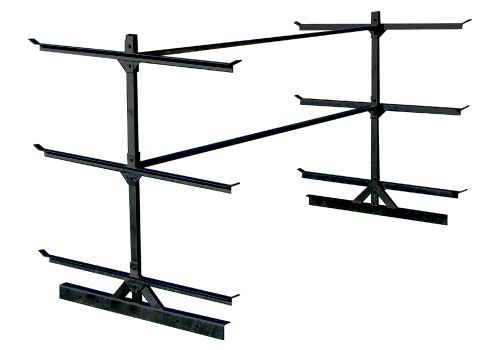 Here's a company that makes a bolt-on kayak rack for 4x8