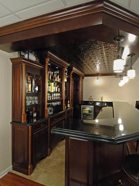 Basement bar designs Basement bars and Bar designs on Pinterest