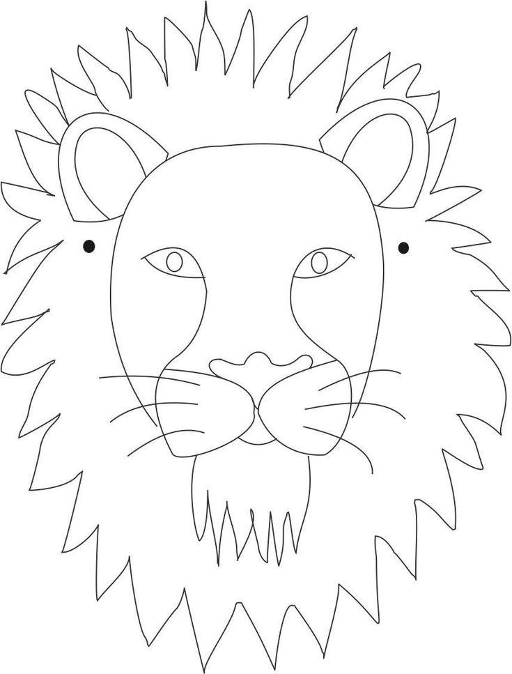 Best 25+ Lion mask ideas on Pinterest