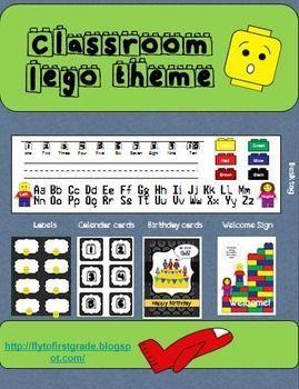 25+ Best Ideas about Lego Classroom Theme on Pinterest