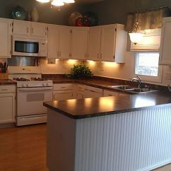 Diy Kitchen Counters Sink Plumbing Kit Rust-oleum Cabinet Transformations® - Pure White Kit. Love ...