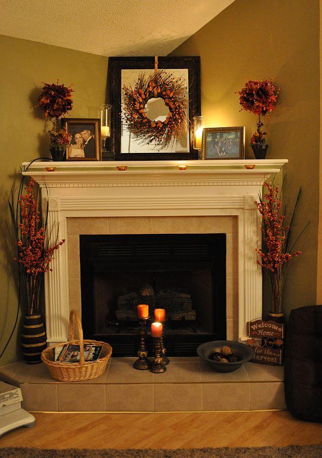 25 Best Ideas About Fall Fireplace Decor On Pinterest Fall