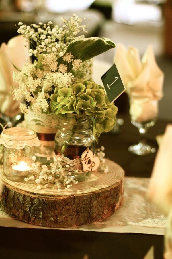 Wood Log Centerpieces for Weddings  Woodlog Centerpieces  Wedding ideas  work ideas
