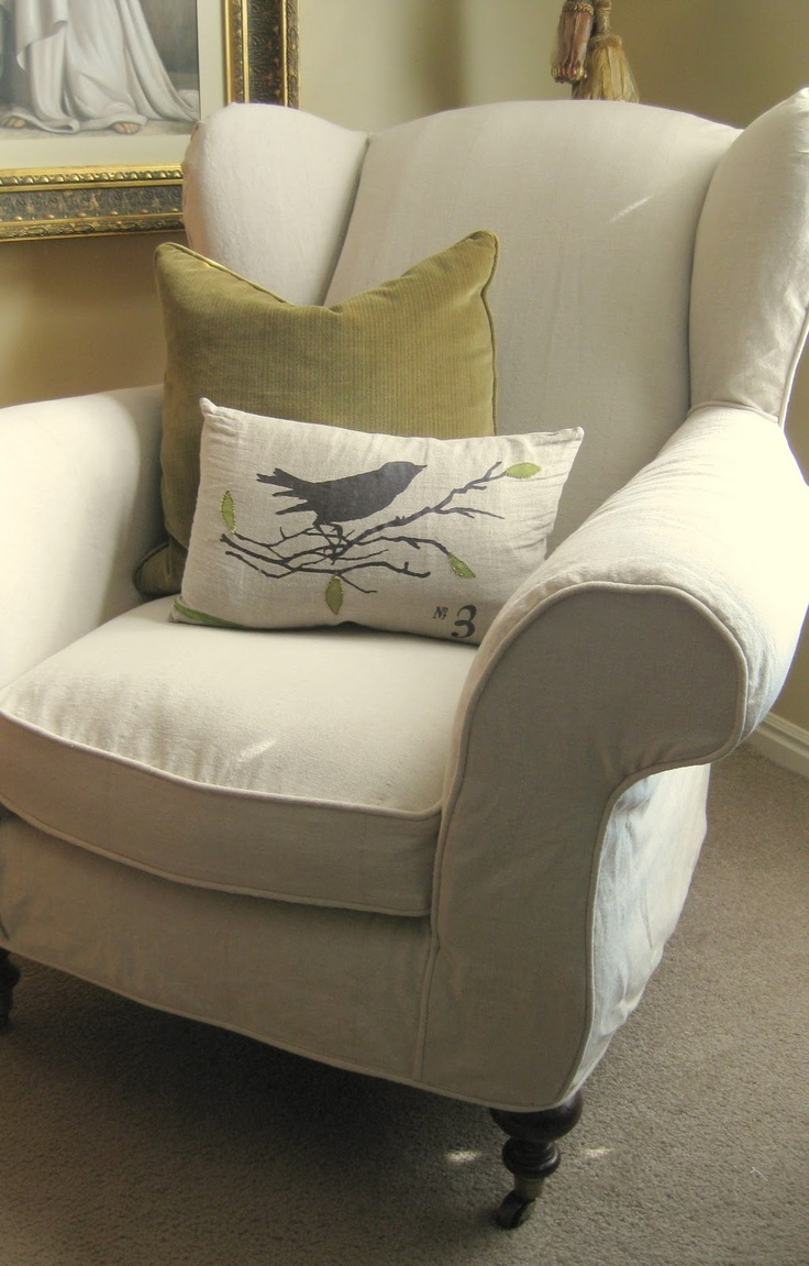 wingback chair covers gray diy bean bag filling 144 best images about have a seat . primitive style on pinterest