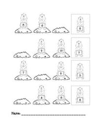 Groundhog Day Worksheets Kindergarten Free