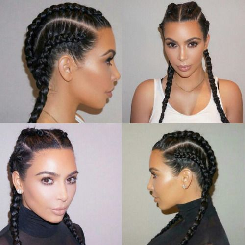 25 Best Ideas About Kim Kardashian Braids On Pinterest Kim