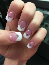 Best 20+ White Tip Acrylic Nails ideas on Pinterest ...