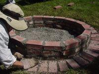 Best 25+ Brick fire pits ideas on Pinterest