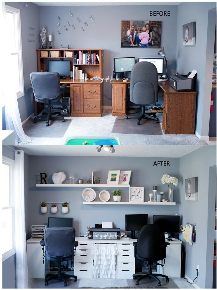 78 images about Home Office on Pinterest  Ikea office Drawer unit and Ribba picture ledge