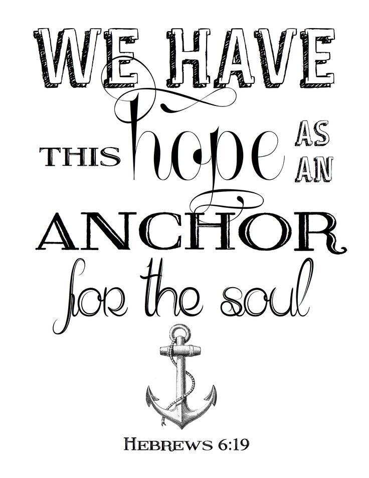 Best 25+ Anchor Bible Verses ideas on Pinterest