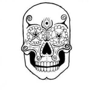 17 Best ideas about Sugar Skull Drawings on Pinterest