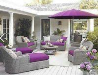 Purple & gray patio furniture   Comfy patio's!   Pinterest ...