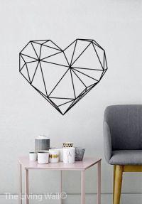 25+ best ideas about Geometric Wall Art on Pinterest