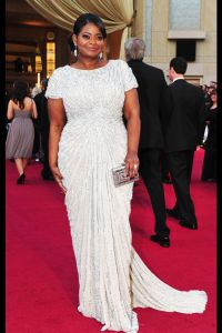 Octavia Spencer in her Red Carpet Dress. We can easily