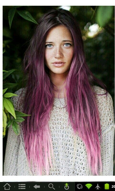Ombre Lavender Hair Ombre Hair Pinterest My Hair